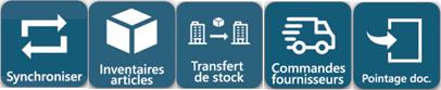 Icone codial mobile inventaire